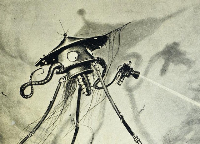 Henrique Alvim Corrêa's Illustrations for The War of the Worlds (1906)