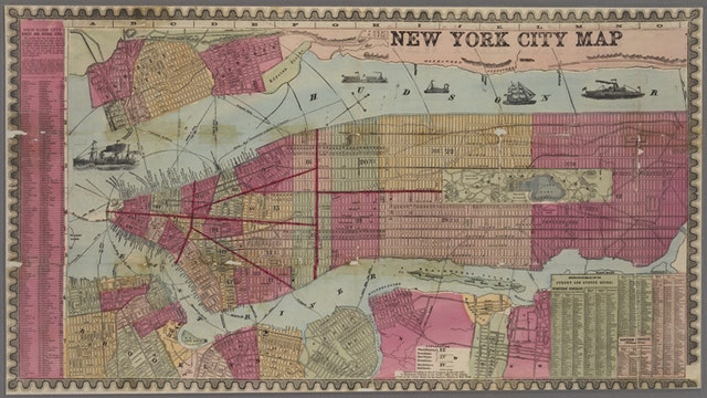Highlights from the 20,000+ maps made freely available online by New York Public Library