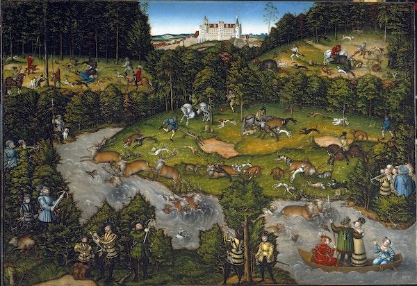 Hunting cranach