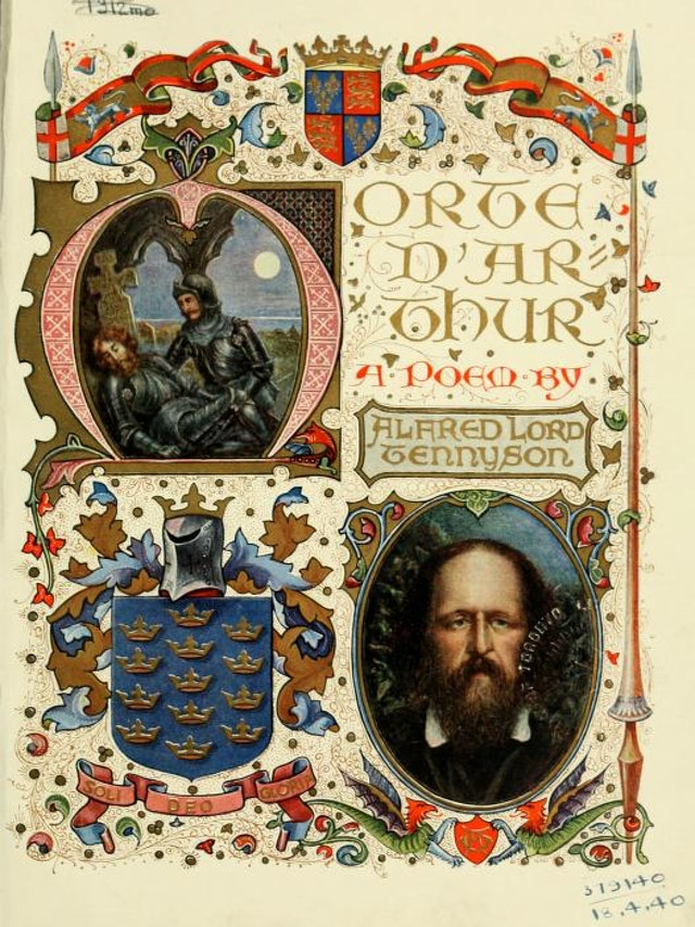 Illuminated version of Lord Tennyson's Morte d'Arthur (1912)