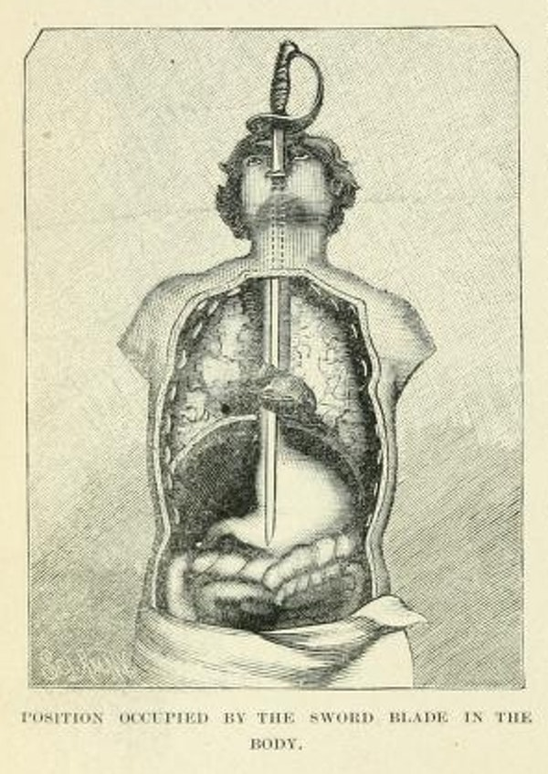 Illustration from a Victorian book on Magic