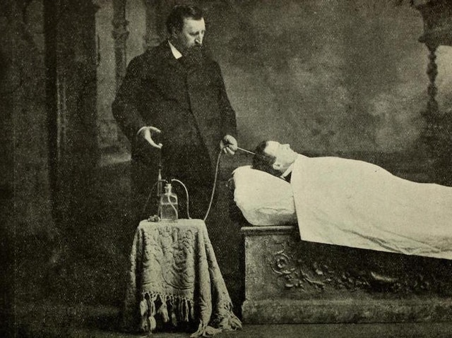 Images from The Champion Text Book on Embalming (1897)