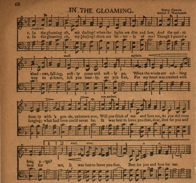 In the Gloaming - American Quartet (1910)