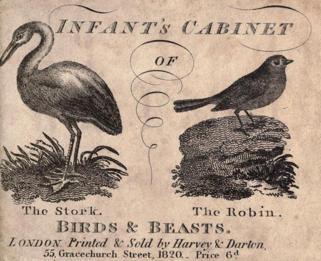 Infant's Cabinet of Birds and Beasts (1820)