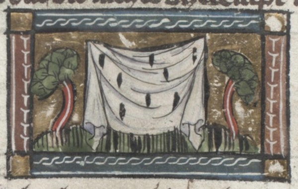 manuscript illustration from jacob van maerlant der naturen bloeme