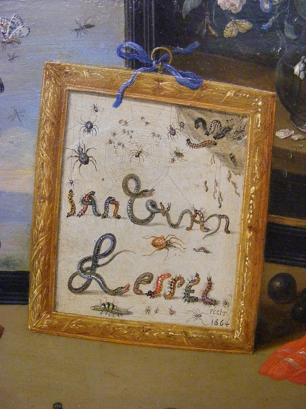 Jan van Kessel signature