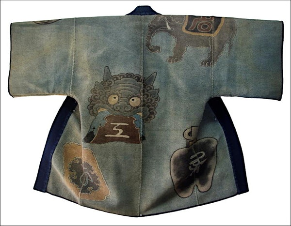 Japanese Fireman coat