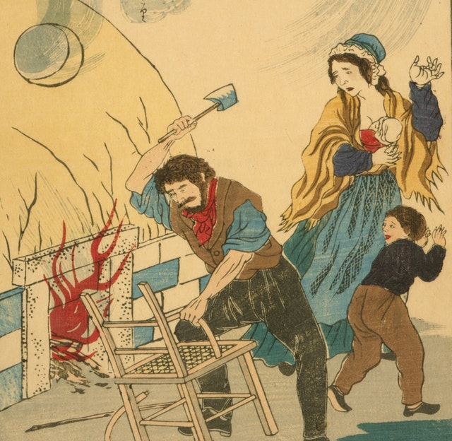 Japanese Prints of Western Inventors, Artists and Scholars (1873)