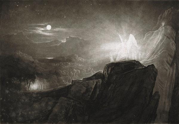 John Martin Illustrations of Paradise Lost