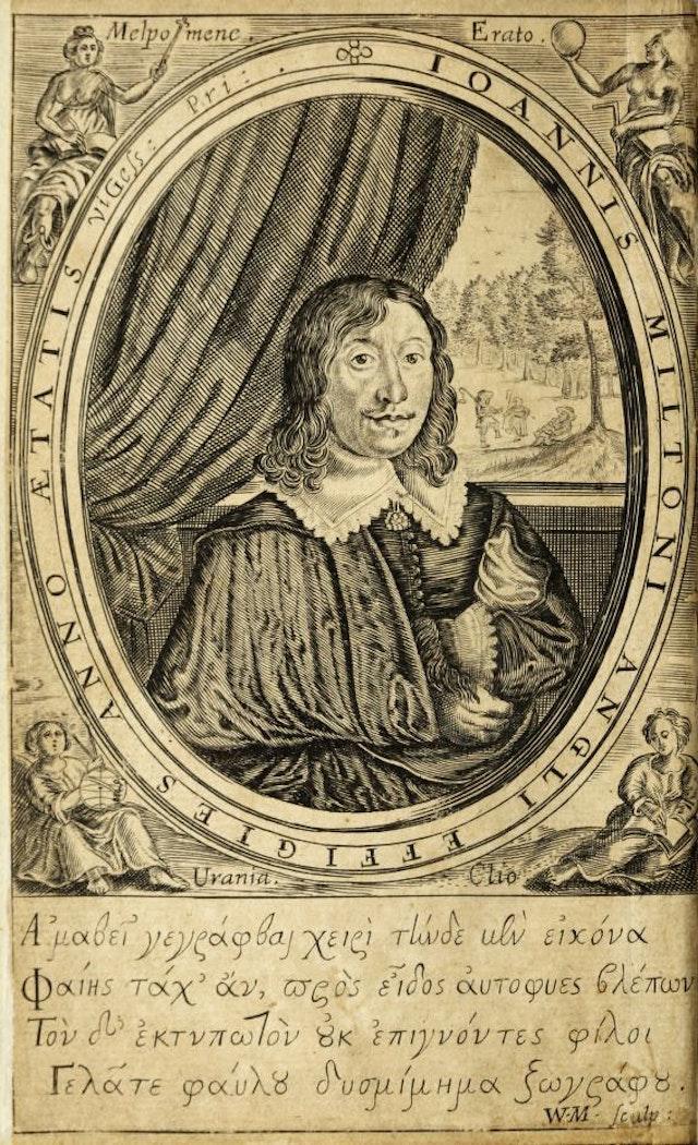 John Milton's Frontispiece Prank