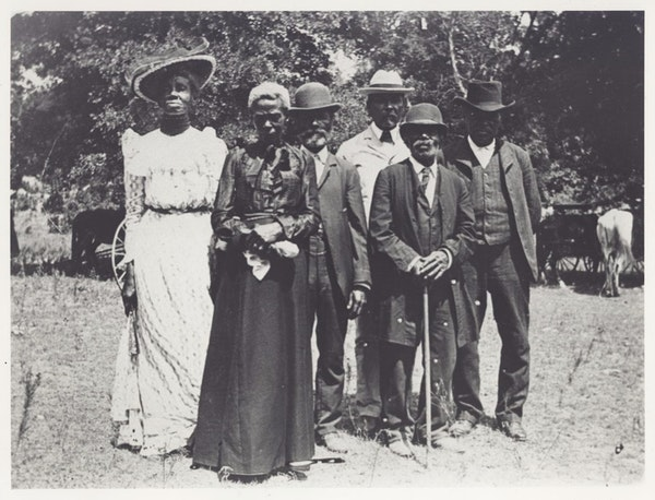 old photo of juneteenth emancipation day