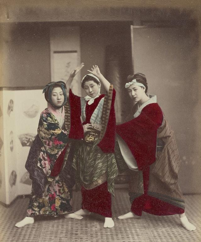 Kusakabe Kimbei's Photographs of Late 19th-Century Japan
