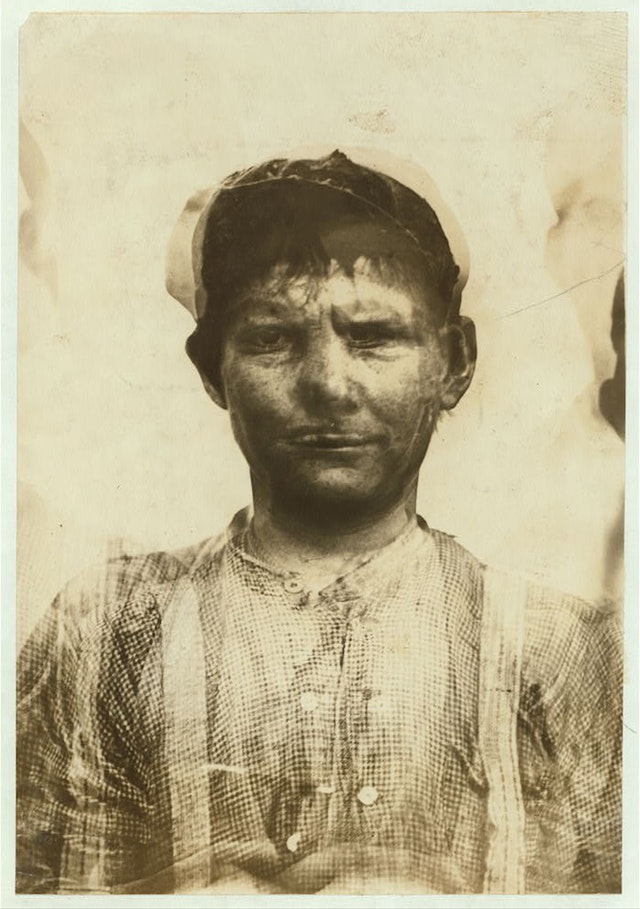 Lewis Hine's Composite Photographs of Child Labourers (1913)