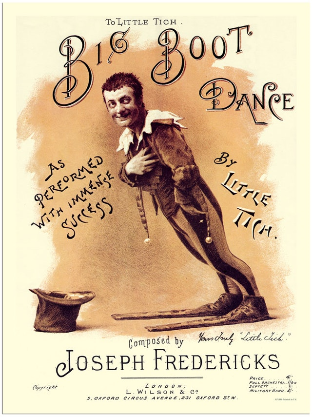 Little Tich and his Big Boot Dance (1900)