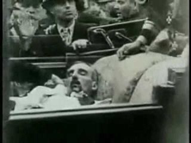 Live footage of King Alexander's Assassination (1934)