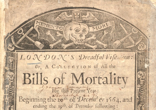 London's Dreadful Visitation: A Year of Weekly Death Statistics during the Great Plague (1665)