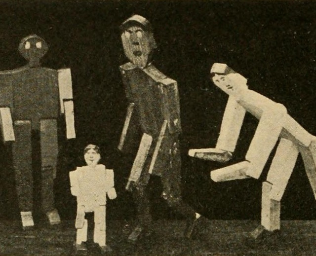 Manual Training — Play Problems (1917)