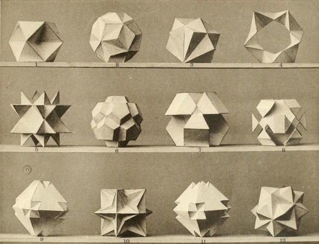 Max Brückner's Collection of Polyhedral Models (1900)