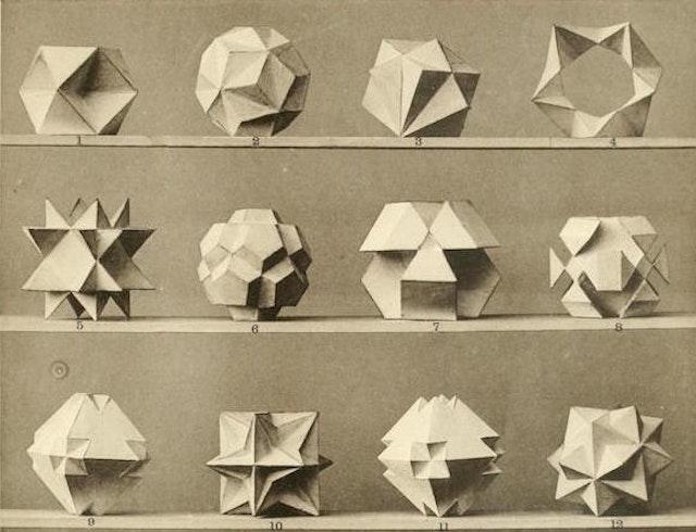 Max Brückner's Collection of Polyhedral Models (1900)