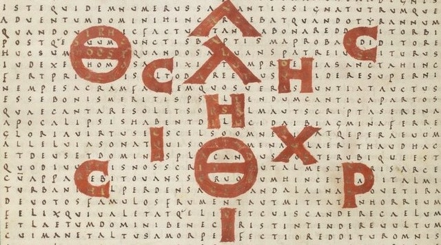 Medieval Pattern Poems of Rabanus Maurus (9th Century)