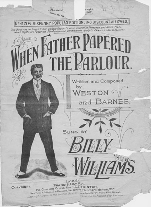 Music Hall Performer Billy Williams