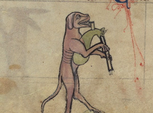 Music in the Margins: The Funeral of Reynard the Fox (13th century)