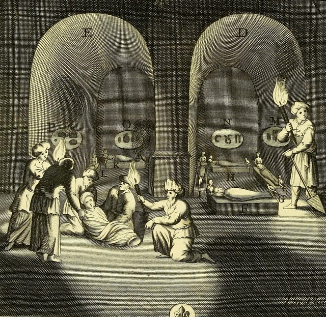Nekrokēdeia or The Art of Embalming (1705)