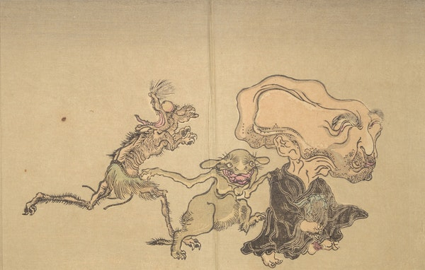 kyosai one hundred demons