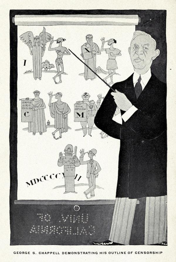 nonsenseorship illustration by Ralph Barton