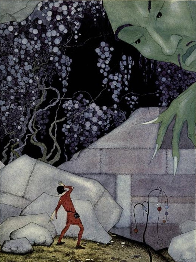 Old French Fairytales, illustrated by Virginia Frances Sterrett (1920)