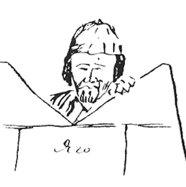 Othello Sketches by Stanislavski (1930)