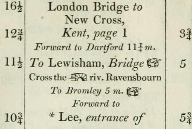 Paterson's Roads (1826 edition)