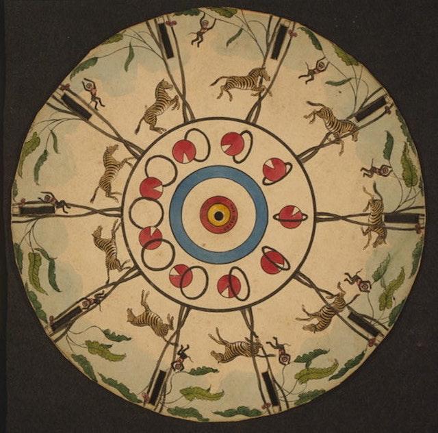Phenakistoscopes (1833)