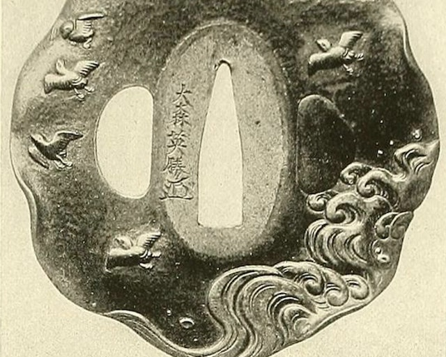 Photographs of Japanese Sword Guards (1916)