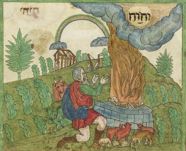 Noah, Trevelyon Miscellany of 1608