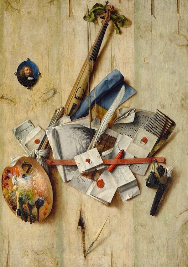 Cornelis Norbertus Gijsbrechts trompe l'oeil