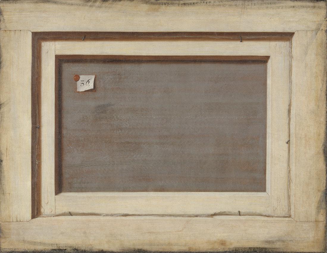 """Reverse of a Framed Painting Trompe-l'oeil) caption={Cornelis Norbertus Gijsbrechts, *The Reverse of a Framed Painting* (ca. 1670) — <a href=""""https://commons.wikimedia.org/wiki/File:Trompe_l%27oeil._Bagsiden_af_et_indrammet_maleri.jpg"""" target=""""_blank"""">Source</a>"""