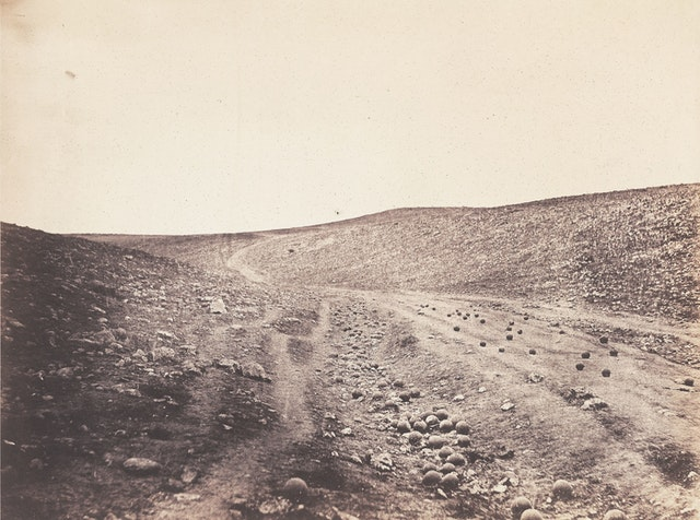 Of Chickens, Eggs, and Cannonballs: Roger Fenton's Valley of the Shadow of Death (1855)