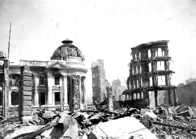 San Francisco Earthquake Aftermath (1906)