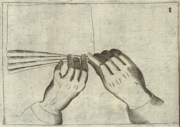 art of napkin folding treatise