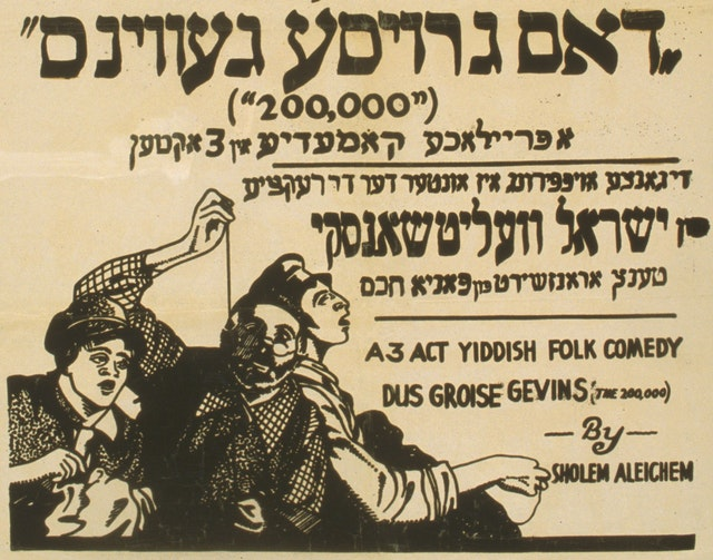 Six Plays of the Yiddish Theatre (1916)