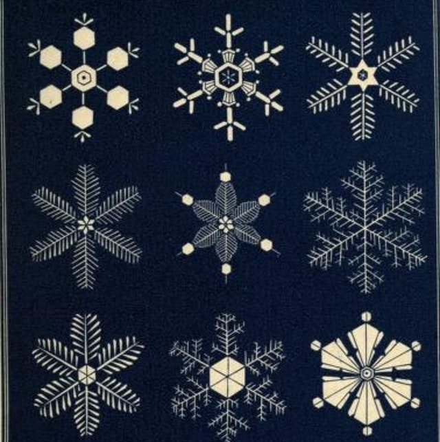Snowflakes: A chapter from the book of nature (1863)