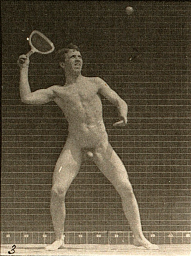 Tennis with Muybridge (1887)