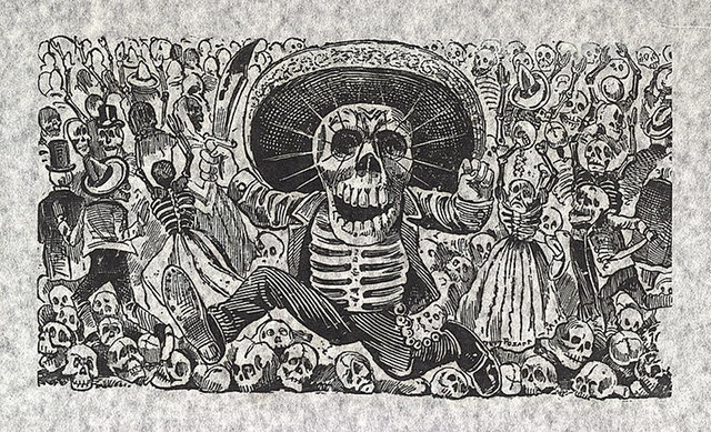 The Calaveras of José Guadalupe Posada