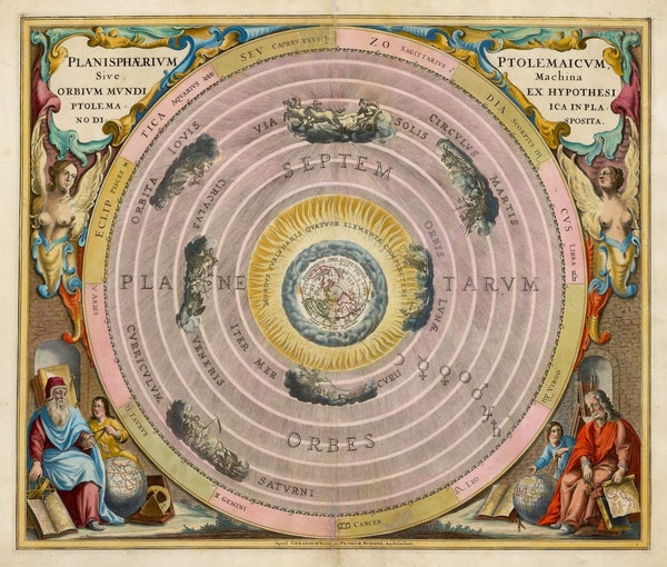 The Planisphere of Ptolemy