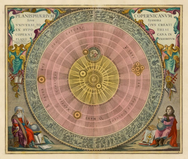 The Planisphere of Copernicus