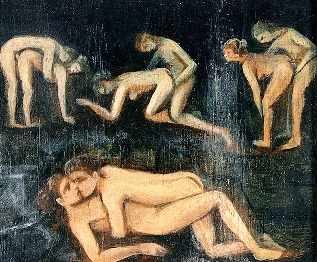 The Concealed Erotic Paintings of Sommonte (19th Century)