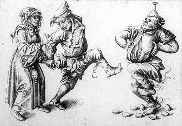medieval egg dance