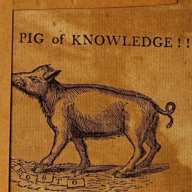 The Expositor, or Many Mysteries Unravelled - including that of the Learned Pig (1805)