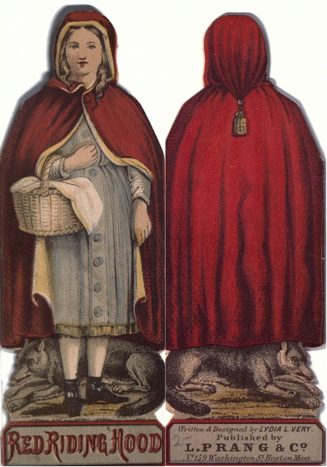 The First Shape Book: Little Red Riding Hood (1863)